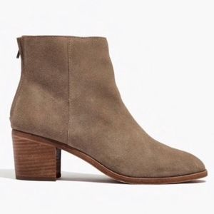 Madewell Pauline Ankle Boots